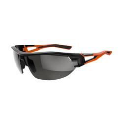 Cycling 700 Orange Adult Cycling Sunglasses Category 3 - Black &