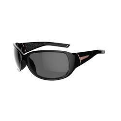 Hiking 500W Adult Hiking Sunglasses Category 4 - Black