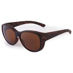 Vision 500W Suncover Overglasses Category 3 Polarised Lenses - Brown