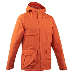 Men's Arpenaz 500 Plain Parka Hiking Jacket - Medium