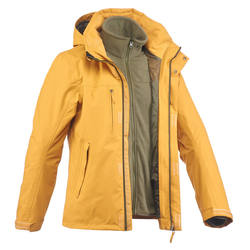 Arpenaz 300 3-in-1 Men's Hiking Rain Jacket