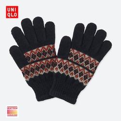 Kids / Boys / Girls HEATTECH knitted gloves 401 781
