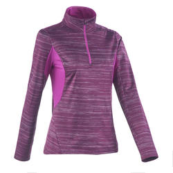 Outdoor sports warm women's T-shirt QUECHUA SH300