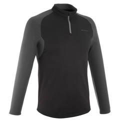 M Long-Sleeved T-Shirt Forclaz 100 Warm