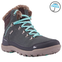 Women's Arpenaz 500 mid Warm waterproof hiking shoes