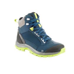 Outdoor climbing warm waterproof men's hiking boots QUECHUA Forclaz 500 Warm Waterproof Men's Hiking Boots