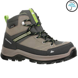 Outdoor sports warm and comfortable youth high climbing shoes QUECHUA Forclaz 500 Mid Children's