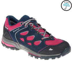 Outdoor sports non-slip cushioning women's hiking shoes QUECHUA FORCLAZ FLEX LOW NOVADRY