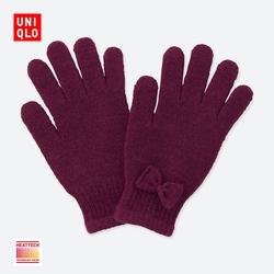 Kids / Boys / Girls HEATTECH knitted gloves 401 782