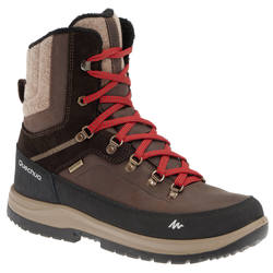 SH900 Men's Warm and Waterproof Snow Hiking High Boots - Brown