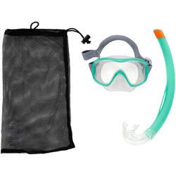 500 Mask and Snorkel Snorkelling Set