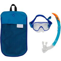 520 Adult Mask and Snorkel Snorkelling Set