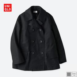 U women's double-breasted coat 402 322