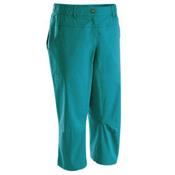 Climbing sport wear freestyle cropped pants SIMOND Cliff Women's 3/4