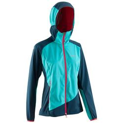 Women's Mountaineering Light Softshell - Blue