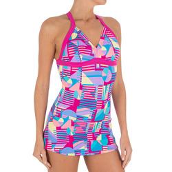 Riana Skirt Women's One-Piece Swimsuit - Allknit