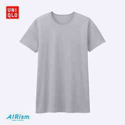 【Special sizes】Men AIRism mesh T-shirt (short sleeve) 182 498