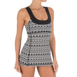 Swimming Slim comfortable adult one-piece skirt swimsuit NABAIJI olivia