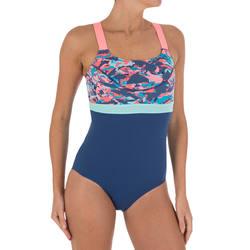 Anna Women's Chlorine-Resistant One-Piece Aquabiking Swimsuit