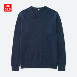 【Special sizes】Men's cashmere V-neck sweater (long sleeves) 400 643