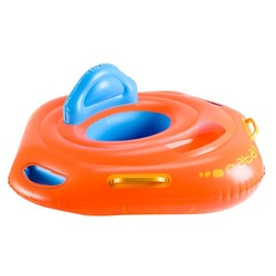 Baby seat swim ring with window & handles for children from 11 to 15kg