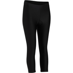 100 Women's Cycling Cropped Bottoms - Black