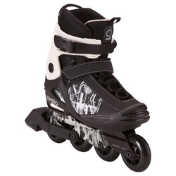 Roller skating freestyle freestyle adult roller skates OXELO Freeride 3 Adult Softboot Inline Skates