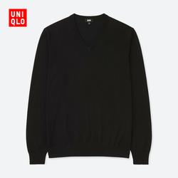 Men machine washable V-neck sweater (long sleeve) 404 572