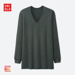 Men HEATTECH V-neck T-shirt (9-Sleeved) 400 220