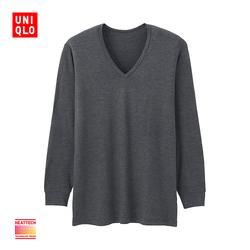 Men HEATTECH V-neck T-shirt (9-Sleeved) 172 756