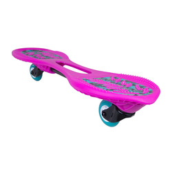 Roller skating Children and adolescents Active plate Serpentine plate Dragon plate OXELO OXELOBOARD BEGINNER WAVEBOARD