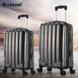 Rockland travel luggage trolley suitcase men password female Korean student boarding box 24 inch Wheels