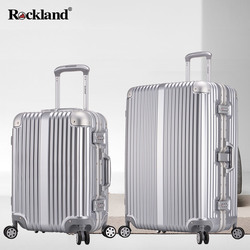 Rockland Rockland travel suitcase female Korean password trolley suitcase caster male student case