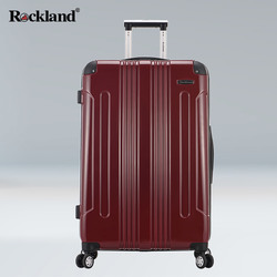 Luggage trolley suitcase Rockland men caster board chassis 20 inch 24 inch hard case lockbox