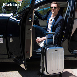 Rockland Rockland female small suitcase travel trolley suitcase password caster Korean male boarding box