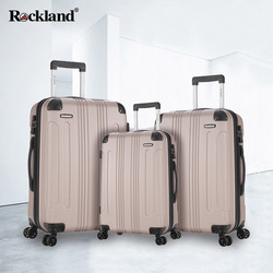 Rockland trolley suitcase caster travel luggage password male female boarding box 24 inch Korean students