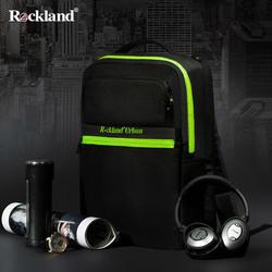 Rockland neutral men and women backpack computer bag large capacity bag casual urban-II