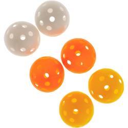 EVA STRIPES Golf Balls X6