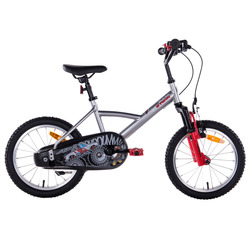 Bicycle front shock absorbers innovative brake reduced frame children's 16-inch children's bicycle B'TWIN monster