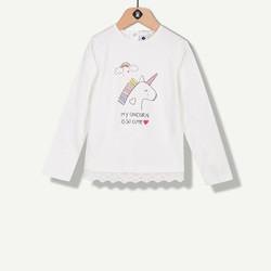 T-shirt licorne écru