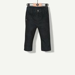 Pantalon velours bicolore