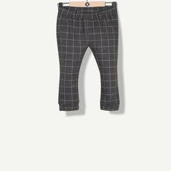 Pantalon molleton imprimé carreaux