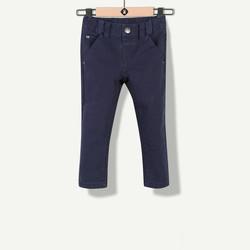 Pantalon esprit chino indigo