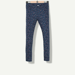 Legging imprimé girly marine