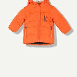 Doudoune fantaisie orange