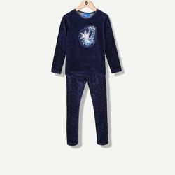 Pyjama Reine des Neiges bleu