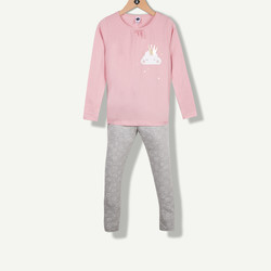 Pyjama nuage vieux rose