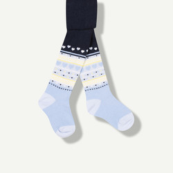 Collants bleus
