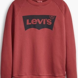 Levi's logo sweater relaxed graphic crewneck sweatshirt