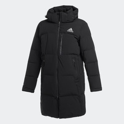 adidas outdoor men down jacket black